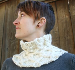 Entwined Cables Collar